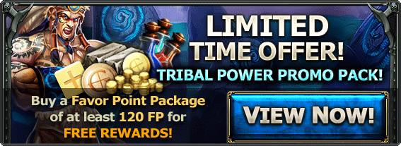 Tribal power ad