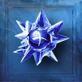 Alchemy blue crystal