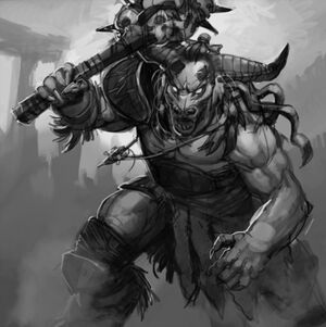 Karn The Minotaur Boss Dead
