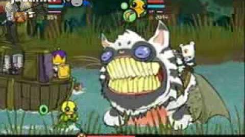 Castle Crashers Cat Fish Boss