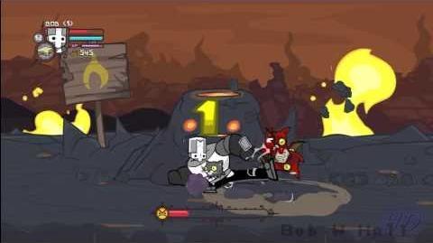 Castle Crashers - Lava World