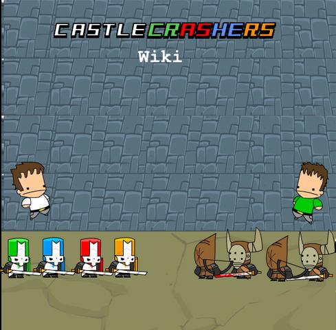 File:Castle Crashers wiki poster 1.png