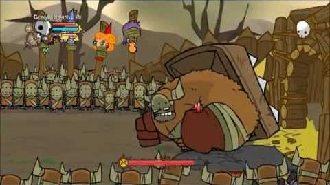 Castle Crashers 2 Gameplay Barbarian War Barbarian Boss - Steam