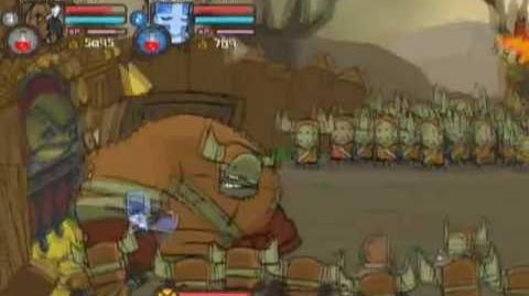 Castle Crashers Walkthrough Part 3 - Barbarian Boss
