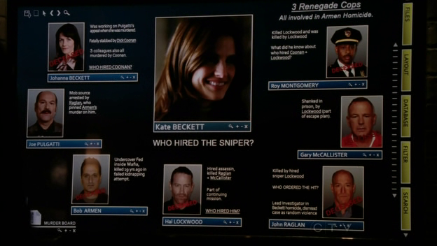Wikia Castle - Rick's Beckett board