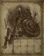 Skeleton Warrior Travel Book