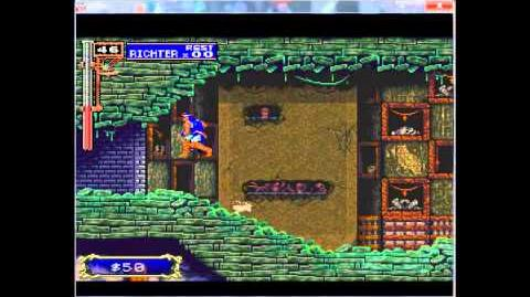 Castlevania Symphony of the Night Richter Mode 195% Part 12 Catacombs