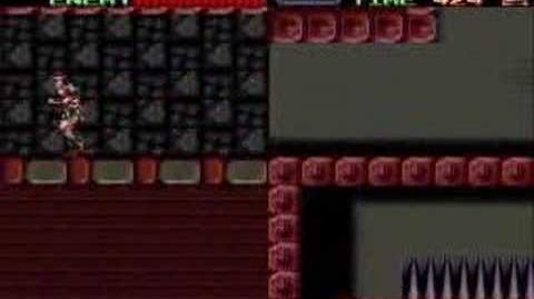 Super Castlevania IV Stage 4