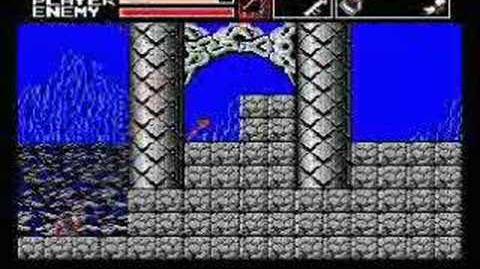 Akumajou Dracula Vampire Killer MSX2(stage4)