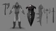 Enemy Armored Skeleton 3