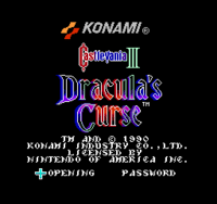 CastleVania3DraculasCurseTitle