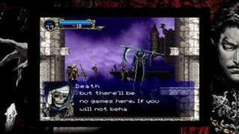 Entrance (Symphony of the Night)/Dialogue