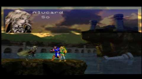 Castlevania Symphony of the Night PSX & PSP Dialogue Changes Intro & Best Ending