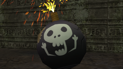 Curse of Darkness - Skull Bomb - 01