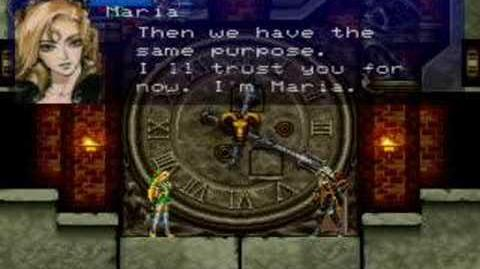 Castlevania SOTN First meeting with Maria