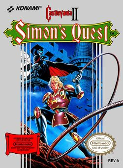 Castlevania II - Simon's Quest (gamebox)