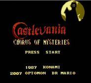 Chorus of Mysteries Title