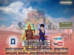 ACW Royale Rumble 2K15 Poster