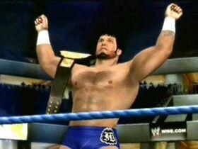 James Dark as DMW World champion