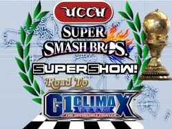 UCCW Road to G1 Climax logo