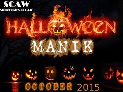 SCAW Halloween Manik 2K15