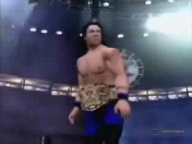 James Dark during his 1st reign as DMW World champion