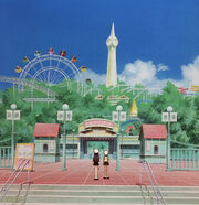 Tomoeda theme park