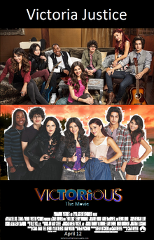 Victorious The Movie theatrical poster