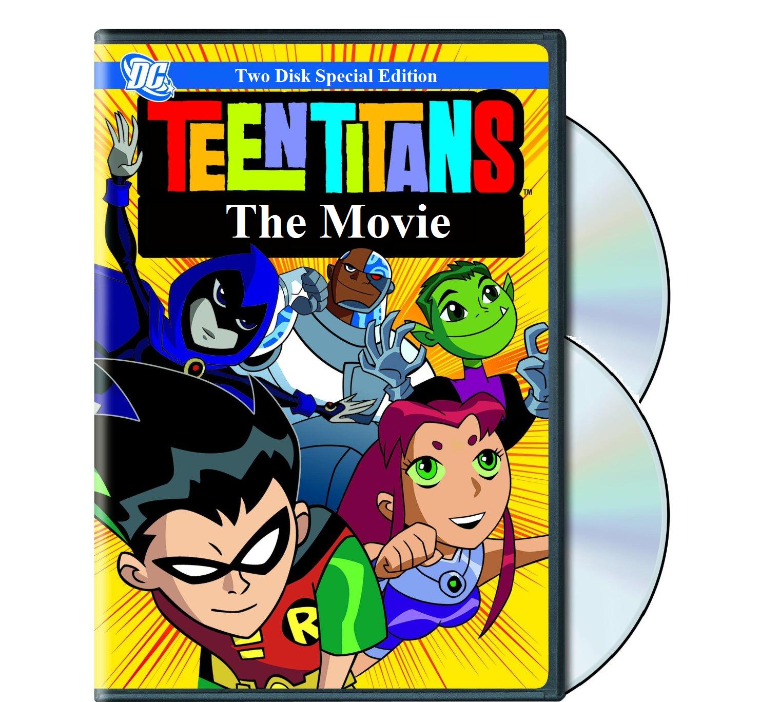 Commit error. The teen titans movie