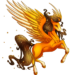 Candy Corn Pegasus