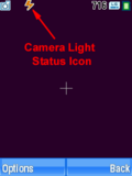 Motorola V3xx Camera Light Status Icon