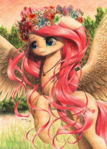 File:Fluttershy by ukulilia-d7p7etl.jpeg