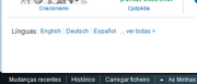 Interwikis label Firefox