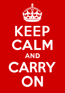 File:Keep Calm and Carry On Poster.png