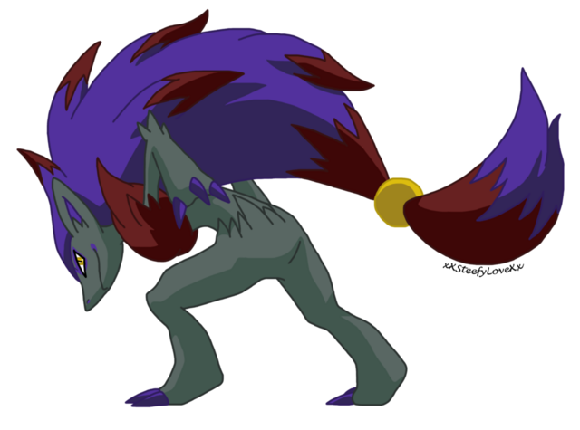 File:Zoroark shiny coloration by xxsteefylovexx-d4rr5ez.png