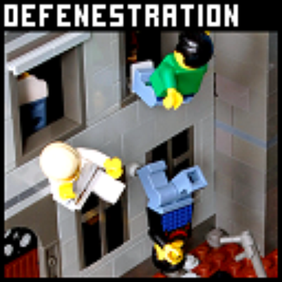 Lego Defenestration