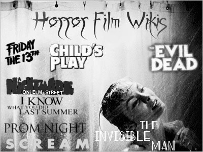 Horror film wikis