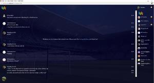 PrntScr Euro 2016 Stadium Chat Skin Fullscreen