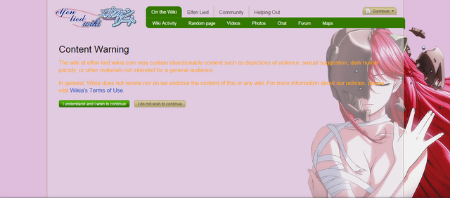 File:ElfenLied Review ContentWarning.png