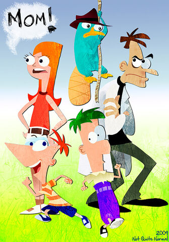 File:Phineas and ferb by not quite normal.jpg
