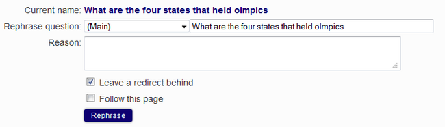 Wikianswers move question