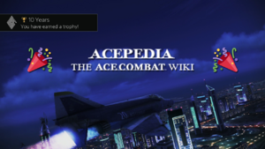 Acepedia 10th Anniversary Banner