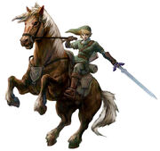 Link-on horse