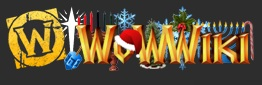 Wowwiki holiday wordmark