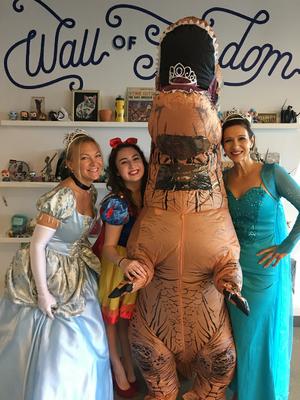 Ann Dinosaur Talent Team