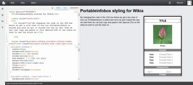 File:Using CSS Deck For Live View of PortableInfobox Styling.jpg