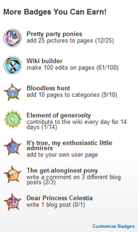 Mlp-achievements
