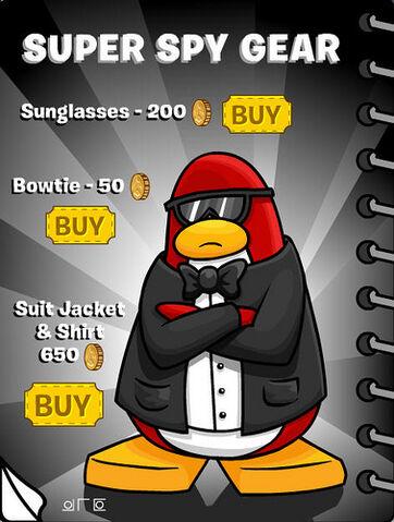 File:Clubpenguin Super Spy Gear and Cool Stuff.jpg