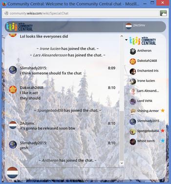 PrntScr Custom Chat User Stars