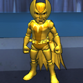Golden Foxbat Action Figure